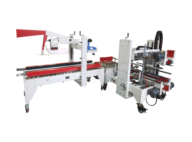 PF-Z655BL+PF-J655BL automatic folding and sealing + corner edge sealing machine