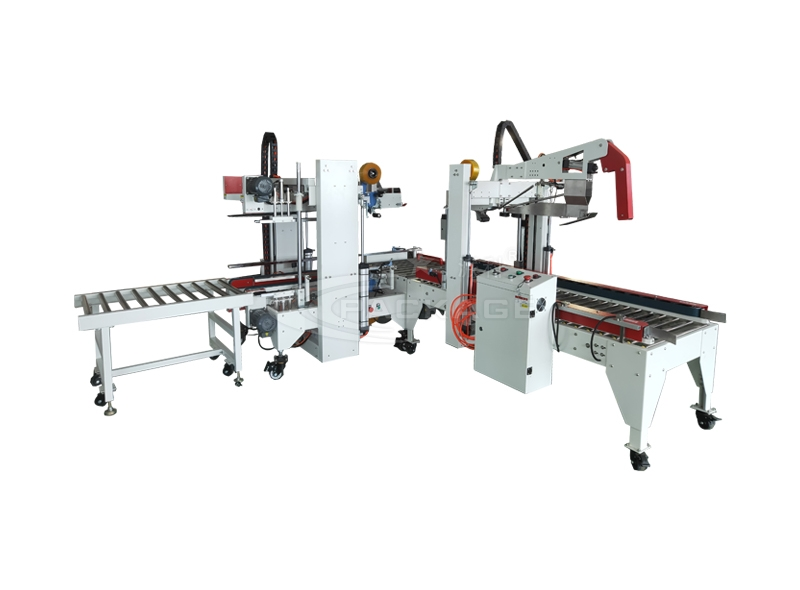 PF-Z655Q+PF-J655Q automatic folding and sealing + corner sealing machine